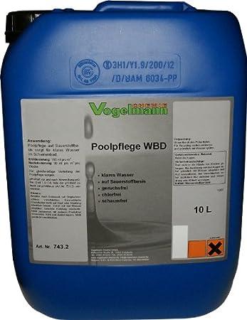 Wasserdesinfektion mit wasserstoffperoxid