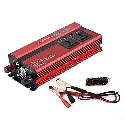 hehilark inversor de corriente de coche, portátil 1200 W potencia ...