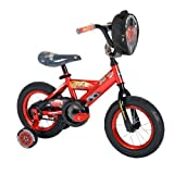 Huffy Disney Cars Boys Bike, Mirror Red, 12-Inch