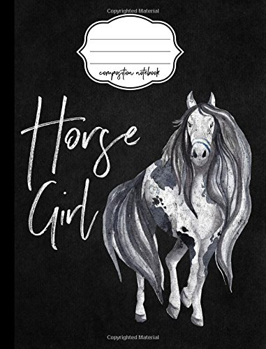 Horse Girl Composition Notebook -  5x5 Quad Rule: Composition Notebook, 5x5 Quad Rule Graph Paper for School / Work / Journaling (Horse Girl Notebook) (Volume 4) pdf