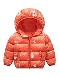 Happy Cherry Kid's Down Jacket Thicken Warmth Outerwear Children Winter Outfits
