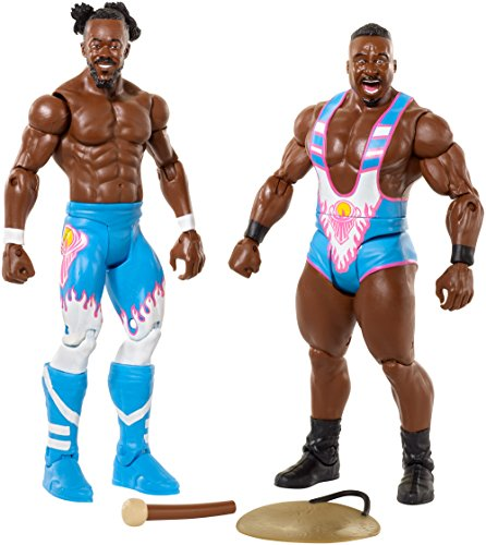 WWE Kofi Kingston & Big E Action Figure (2 Pack) by WWE