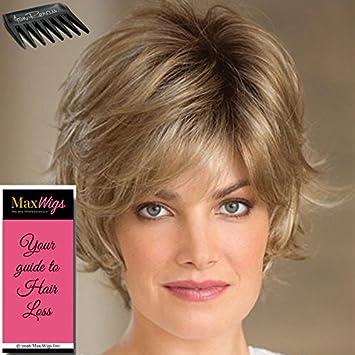 Amazon Com Sky Partial Mono Wig Color Creamy Blonde Noriko Wigs