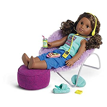 Fantastic Buy American Girl Gabrielas Chair And Ottoman Set Online Gmtry Best Dining Table And Chair Ideas Images Gmtryco