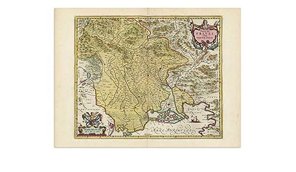 Amazon Com The Blaeu Prints Friuli Venezia Giulia Italy