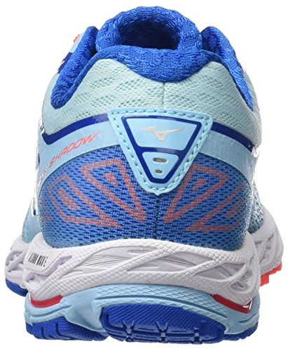 Bluetopaz Shadow WOS Multicolor Fierycoral Mizuno Women's Imperialblue Shoes Running Wave Blue Etx84