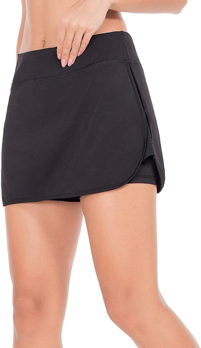ZEALOTPOWER Athletic Skorts for Women Running Skirts Active Exercise Tennis  Golf Sports at Amazon Women's Clothing store