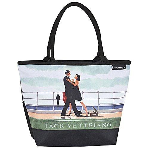 "VON LILIENFELD Borsa shopping Jack Vettriano: ""Valzer dell'anniversario"""