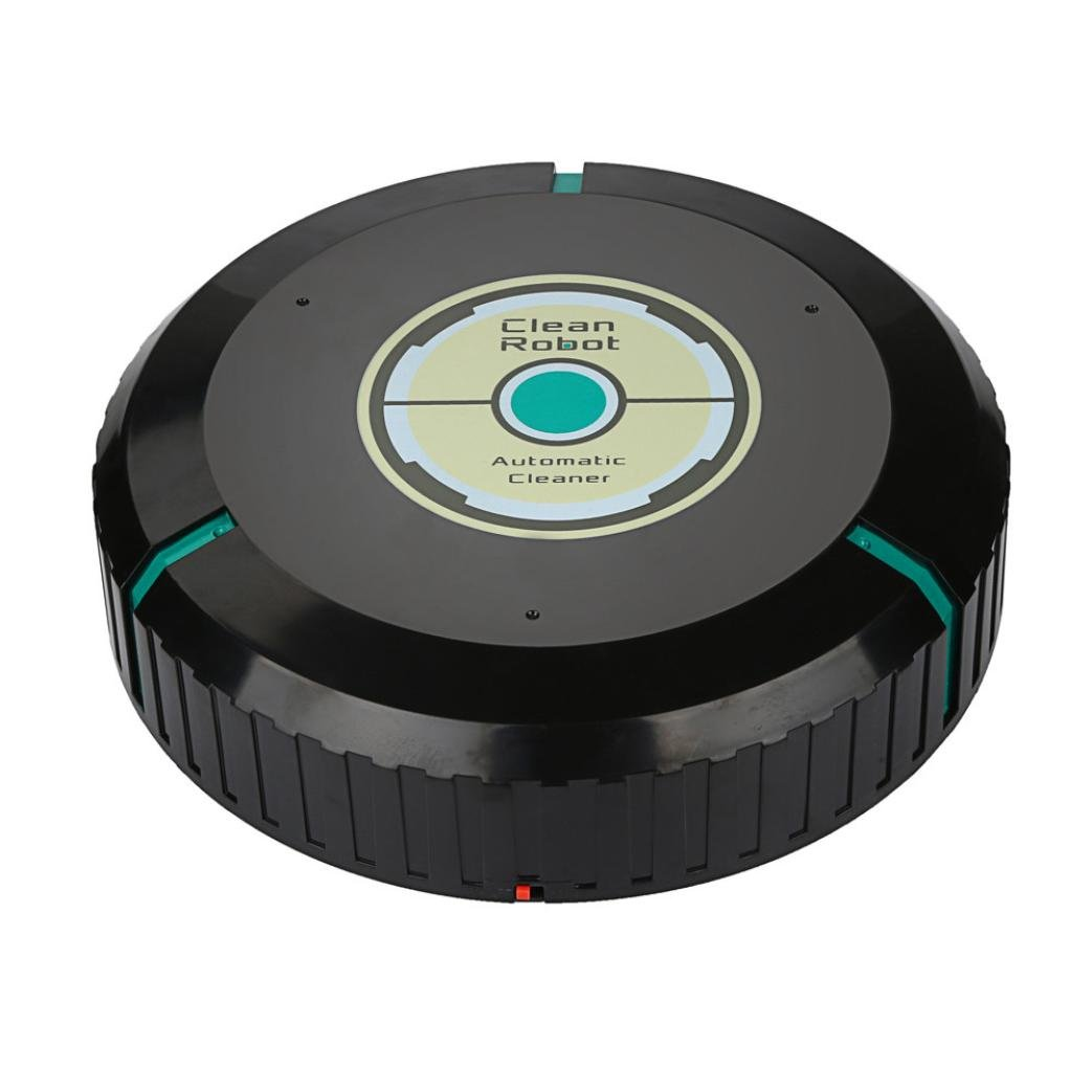 Morrivoe Mini Automatic Sweeping Machine Intelligent Robotic Vacuum Cleaner Household Floor Dust Sweeper