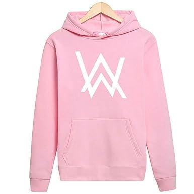 75a5ddb86ccd97 Jordan Hoodies for Men Alan Walker Faded Sport Suit Hip hop Rock Star Sweatshirt  Pink White