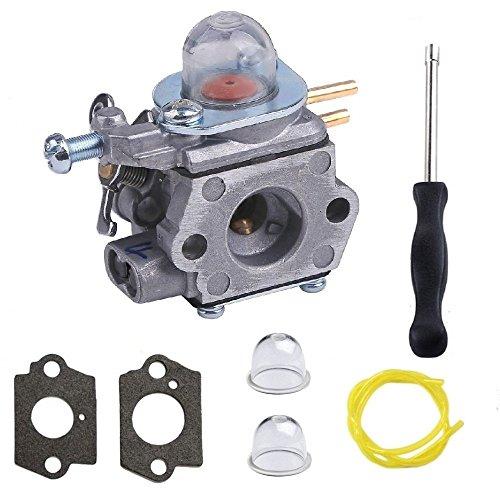 Janrui Walbro WT-973 WT973 Carburetor For Bolens Bl110 BL160 BL425 Craftsman Troybilt with Carburetor Adjustment Tool