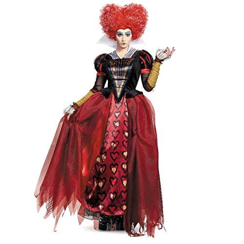 Disney Womens Alice Red Queen Prestige Costume, Large