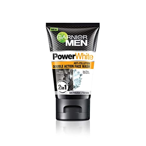 ef64a413f5 Buy Garnier Men Power White Anti-Pollution Double Action Facewash ...