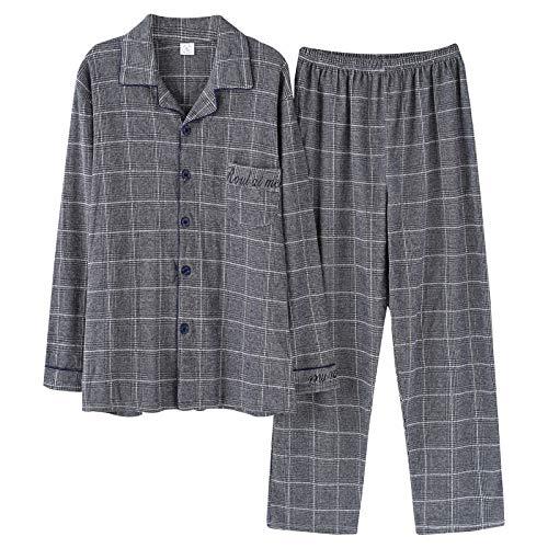 Otoño Photo Solapa Meixia Y Hombres Pijamas Color Para De Batas Conjuntos Punto Primavera xYYZqPg