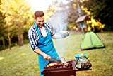 Wealers 7 Piece Outdoor Indoor Camping BBQ