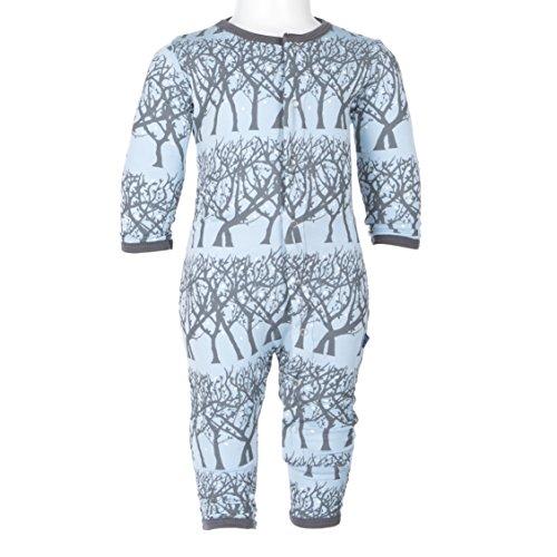KicKee Pants Boys Print Coverall Prd-kpca213-pfrt, Pond Fireflies, 2T (Firefly Clothing Sale)