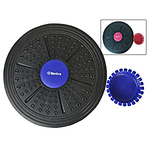 Adjustable Balance Board, Extra Wide Diameter, For Fitness, Balance, and Stability Training