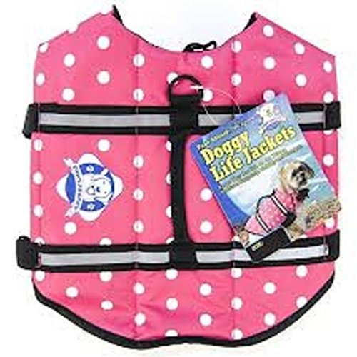 XXS-Paws-Aboard-Doggy-Life-Jacket-Pink-Polka-Dot