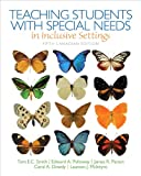 Teaching Students with Special Needs in Inclusive Settings, Fifth Canadian Edition, Loose Leaf Version Plus Video-Enhanced Pearson eText -- Access Card Package (5th Edition)