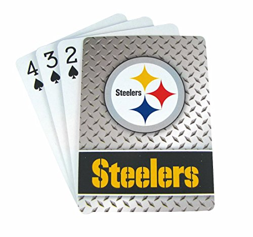 Pro Specialties Group NFL Diamond Plate Playing Cards by Pro Specialties Group