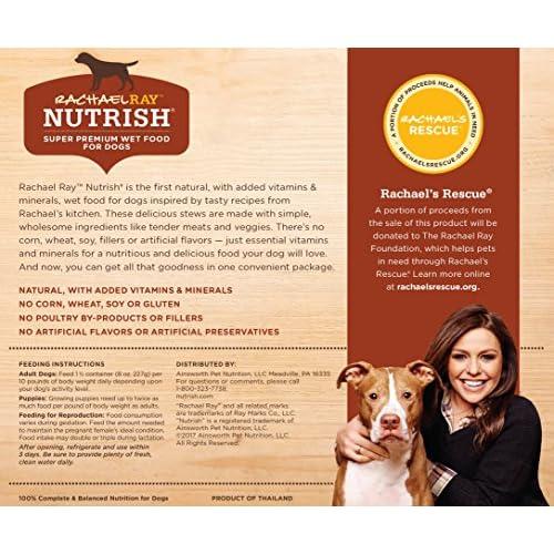 Rachael Ray Nutrish Natural Wet Dog Food chic