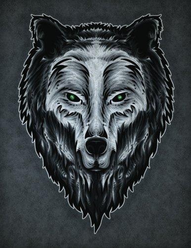 (Guardian Wolf Spirit Sketchbook: Blank Art Pad Notebook Journal (Tattoo You 150 Sketch) (Volume 49))