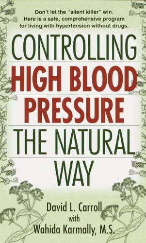 Controlling High Blood Pressure the Natural Way