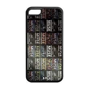 5C Phone Cases, Muse Hard TPU Rubber Cover Case for iPhone 5C WANGJING JINDA