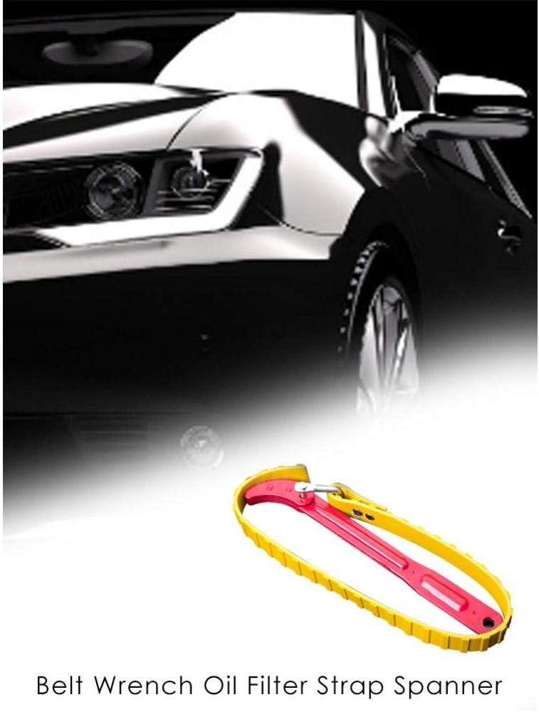 AMOYER Nuovo Tipo 8in Antiscivolo Belt Filtro Olio Filtro Strap Chiave Olio Catena dei filtri a Cartuccia smontaggio Strumento Accessori Auto