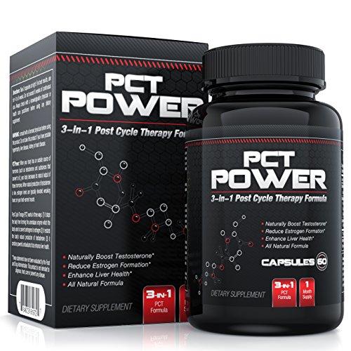 # 1 Сообщение цикл терапия (РСТ) Дополнение - Все Натуральный препарат PCT 3-в-1 работает как эстроген, Blocker и тестостерон Booster а также оказания поддержки печени - Содержит пажитник, хризин, расторопша, Тонгкат Али и ещё - 60 капсул