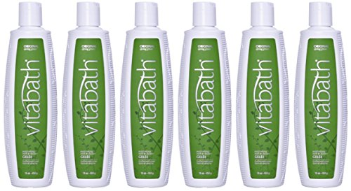 Spring Moisturizing Gelee Original Green (Vitabath Moisturizing Bath & Shower Gelée, Original Spring Green (Pack of 6) 6 x 16 oz, Total of 96 oz)