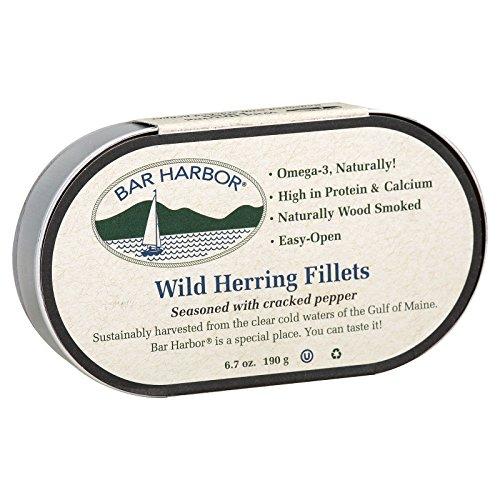 Bar Harbor Wild Herring Fillets - Cracked Pepper - Case