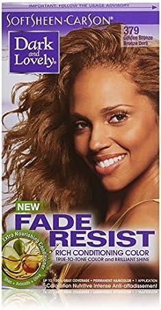 Dark and Lovely 379 - Tinte para el cabello resistente al desgaste y al desgaste, color dorado y bronce