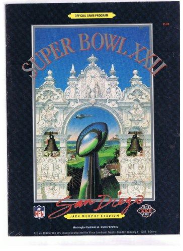 super-bowl-xxii-official-game-program-washington-redskins-vs-denver-broncos