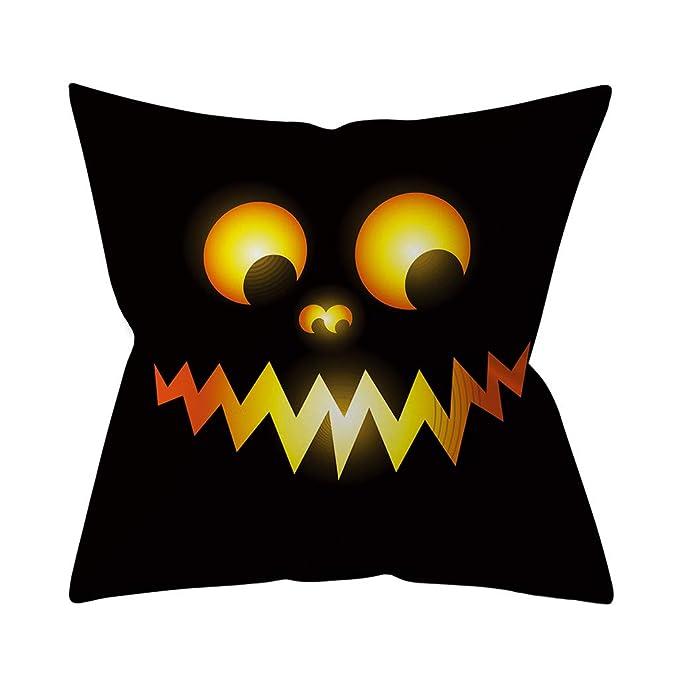 Amazon.com: HOSOME - Funda de cojín decorativa, diseño de ...