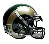 Schutt Colorado State Rams Official NCAA 14 inch x 12 inch XP Authentic Full Size Helmet by Sports 761034