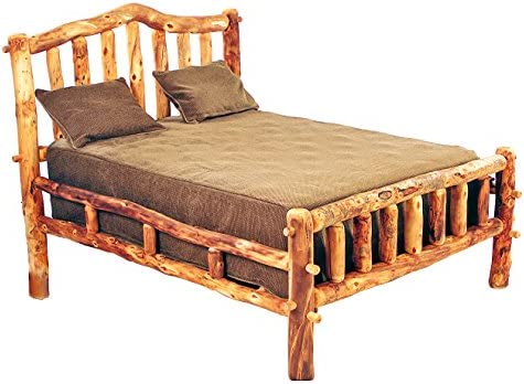 Amazon.com: Mountain Woods Furniture Aspen Heirloom Collection Snowload I Bed, Twin, Bronze Aspen Finish: Kitchen & Dining
