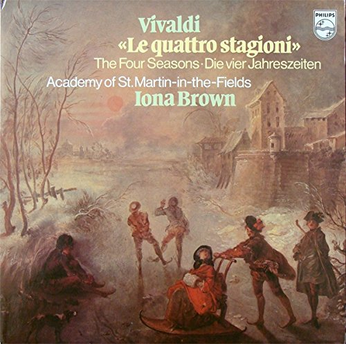 Le Quattro Stagioni - Antonio Vivaldi, Iona Brown, Academy Of St. Martin-In-The-Fields, The LP