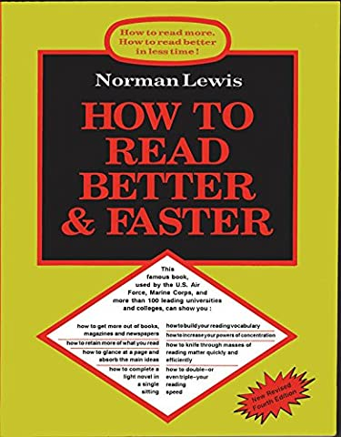 How to Read Better and Faster 4 Edition price comparison at Flipkart, Amazon, Crossword, Uread, Bookadda, Landmark, Homeshop18
