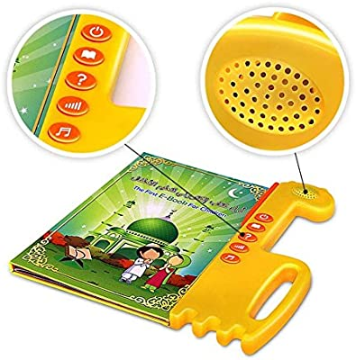 Muslim Islamic Holy Quran Pad Tablet Toy Kids Learning Arabic// English,Educational Toy for Child Development EQ Quran Learning Machine