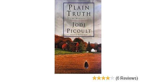 plain truth a novel