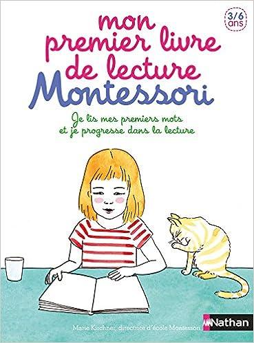 Amazon Com Mon Premier Livre De Lecture Montessori 3 6