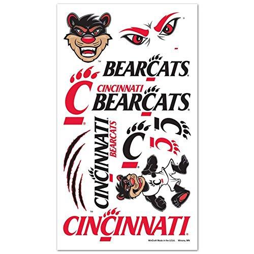 - Cincinnati Bearcats Temporary Tattoos