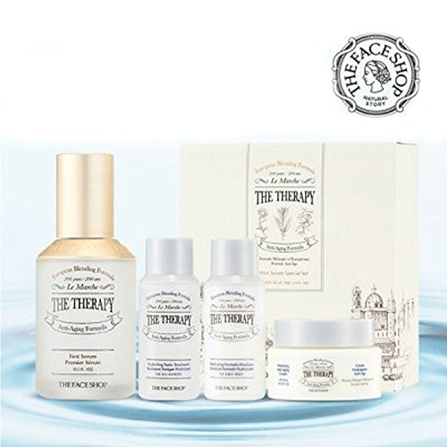 The Face Shop The Therapy FIRST SERUM Starter GIFT SET Quantity Limited Value Set