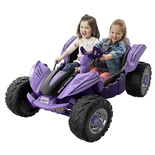 Durable and Stylish Power Wheels Dune Racer Extreme with High Speed Lock-Out...