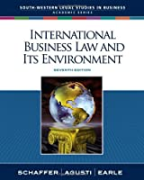 International Business Law and Its Environment, 7th Edition Front Cover