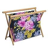 Hobby Gift HGKSL/248 | Veranda Print Large Knit/Sew Stand | 23x48.5x35.5cm