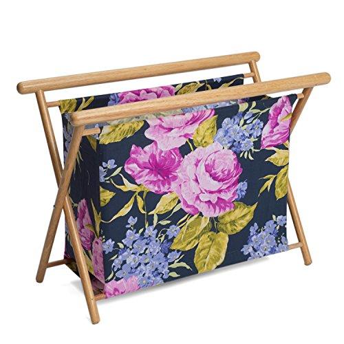 Hobby Gift HGKSL/248 | Veranda Print Large Knit/Sew Stand | 23x48.5x35.5cm by Hobby Gift