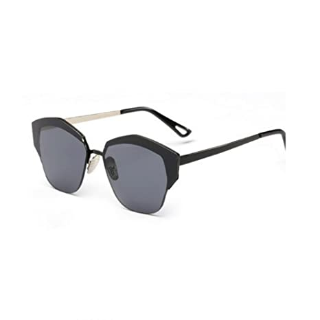 HONEY UV-Schutz Sonnenbrillen für Damen - Reflektierende Metallgläser - Westerngläser ( Farbe : Barbie pink ) QgGcKwf