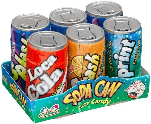 Toysmith Soda Can Fizzy Candy